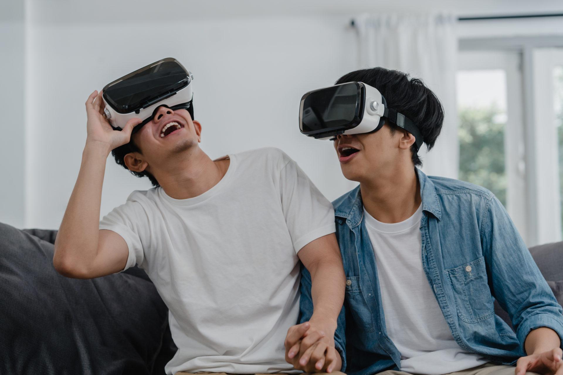 couple saint valentin VR