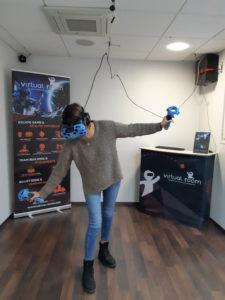 Le défi de la planche chez Virtual Room Orléans