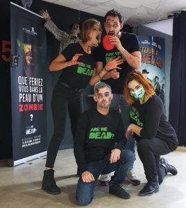 L'équipe Virtual Room Orléans fête Halloween !