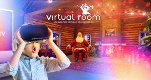 La rencontre du père noel en réalité virtuelle à Orléans