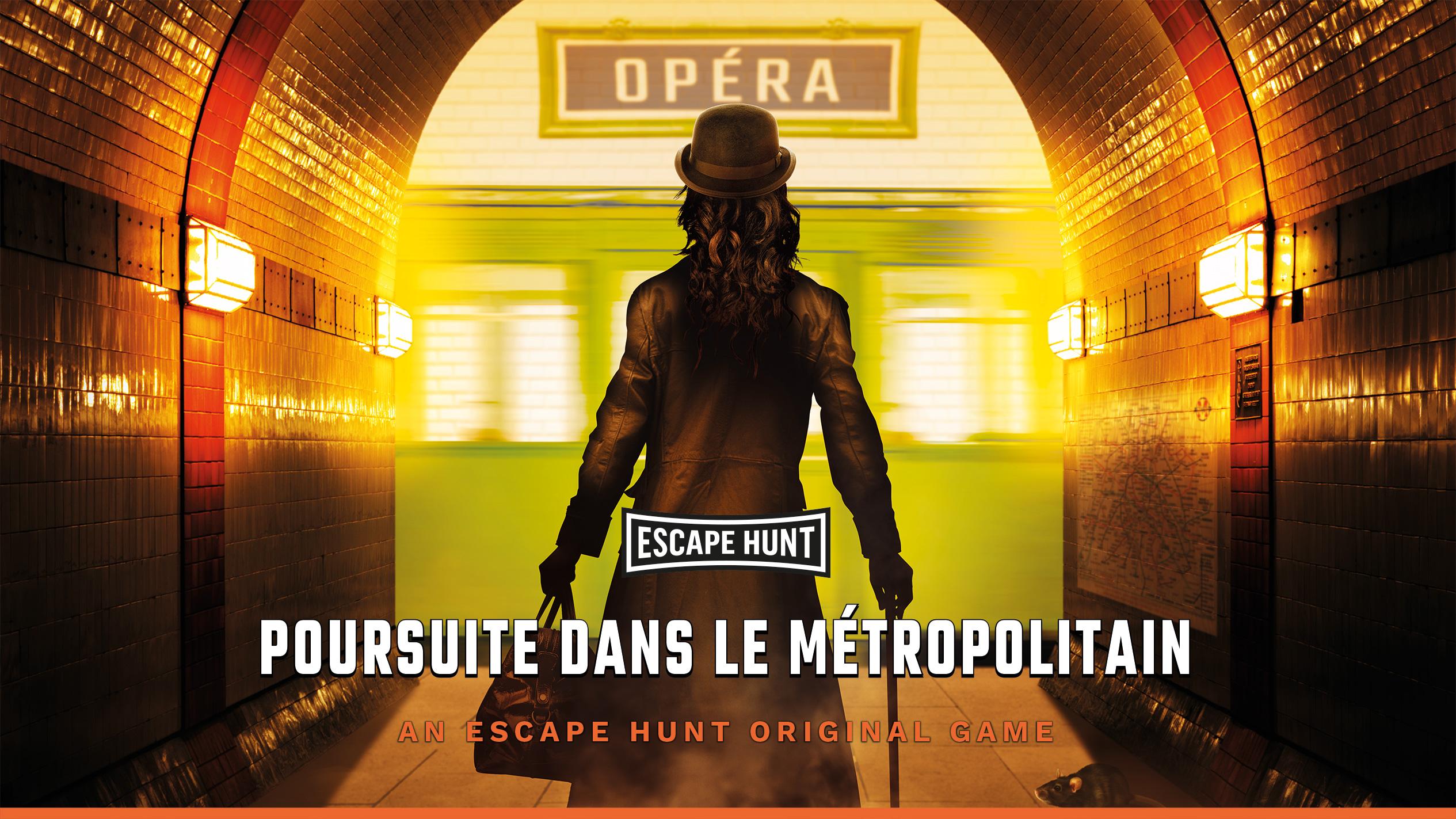 Poursuite dans le métro - Escape Hunt