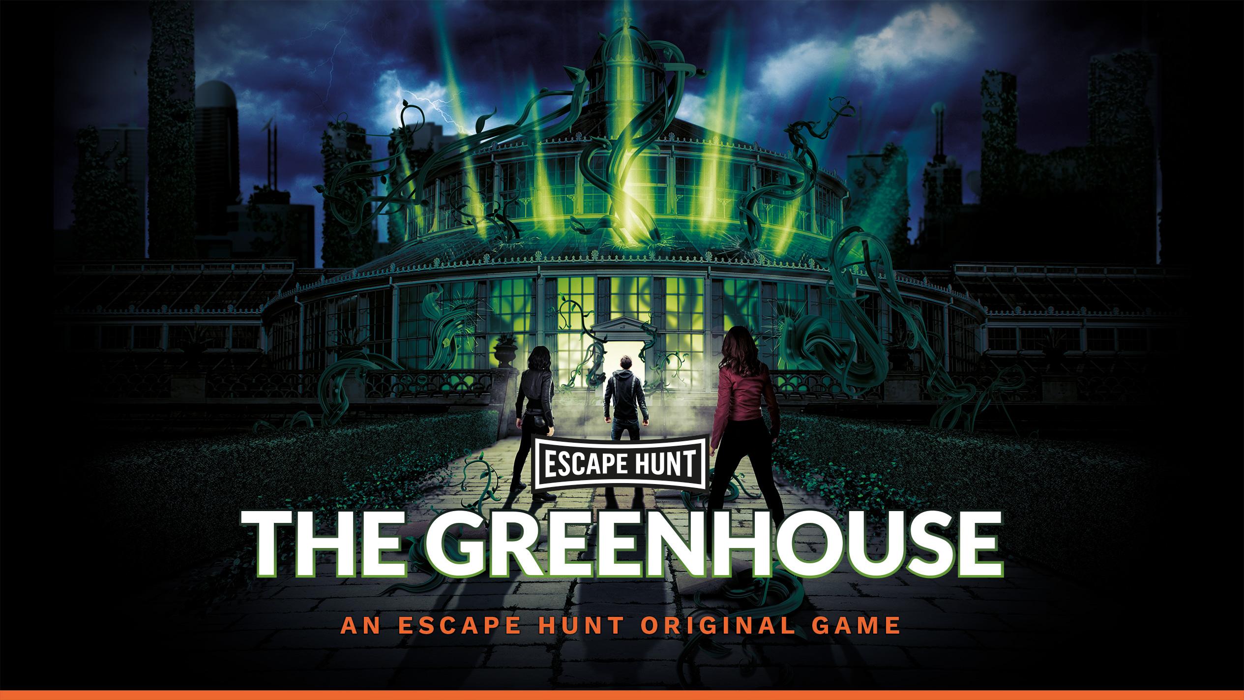 The greenhouse Escape Game - Escape Hunt