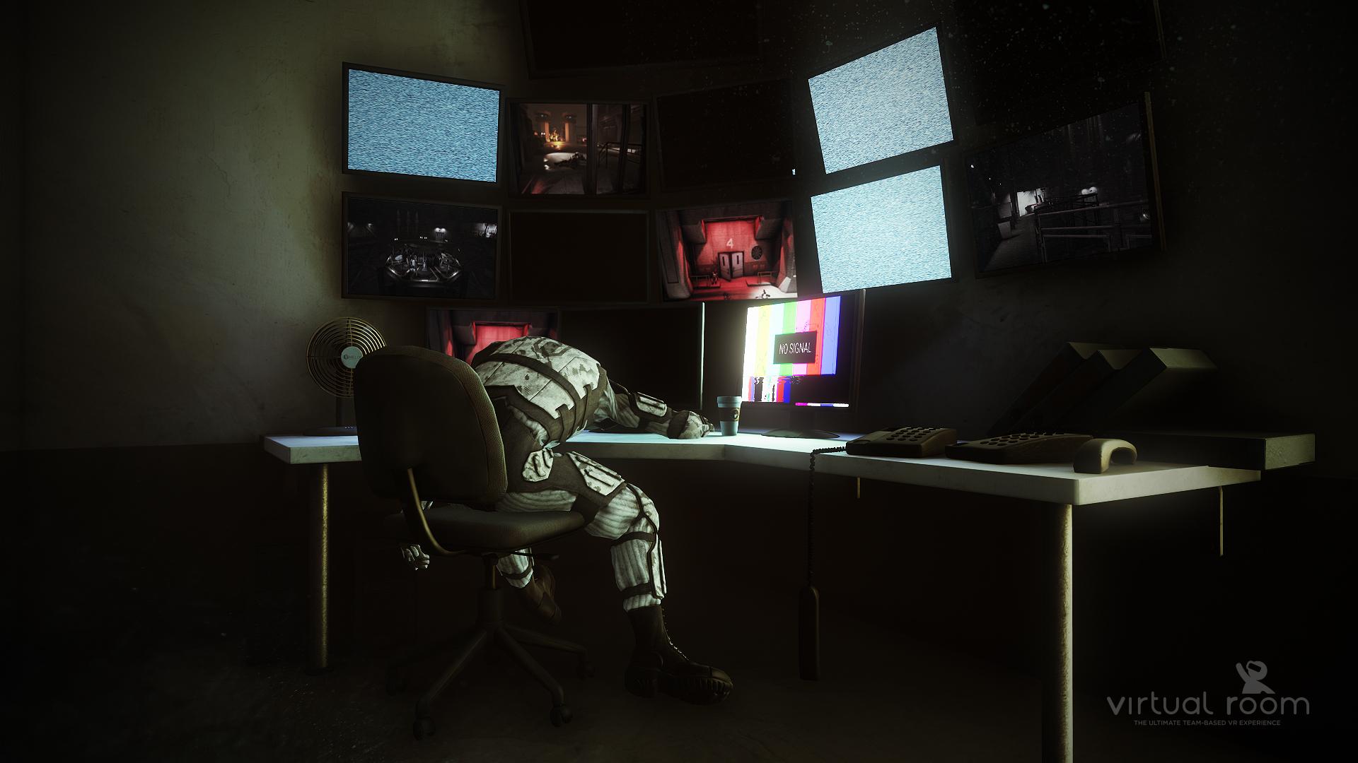 expérience réalité virtuelle de zombies